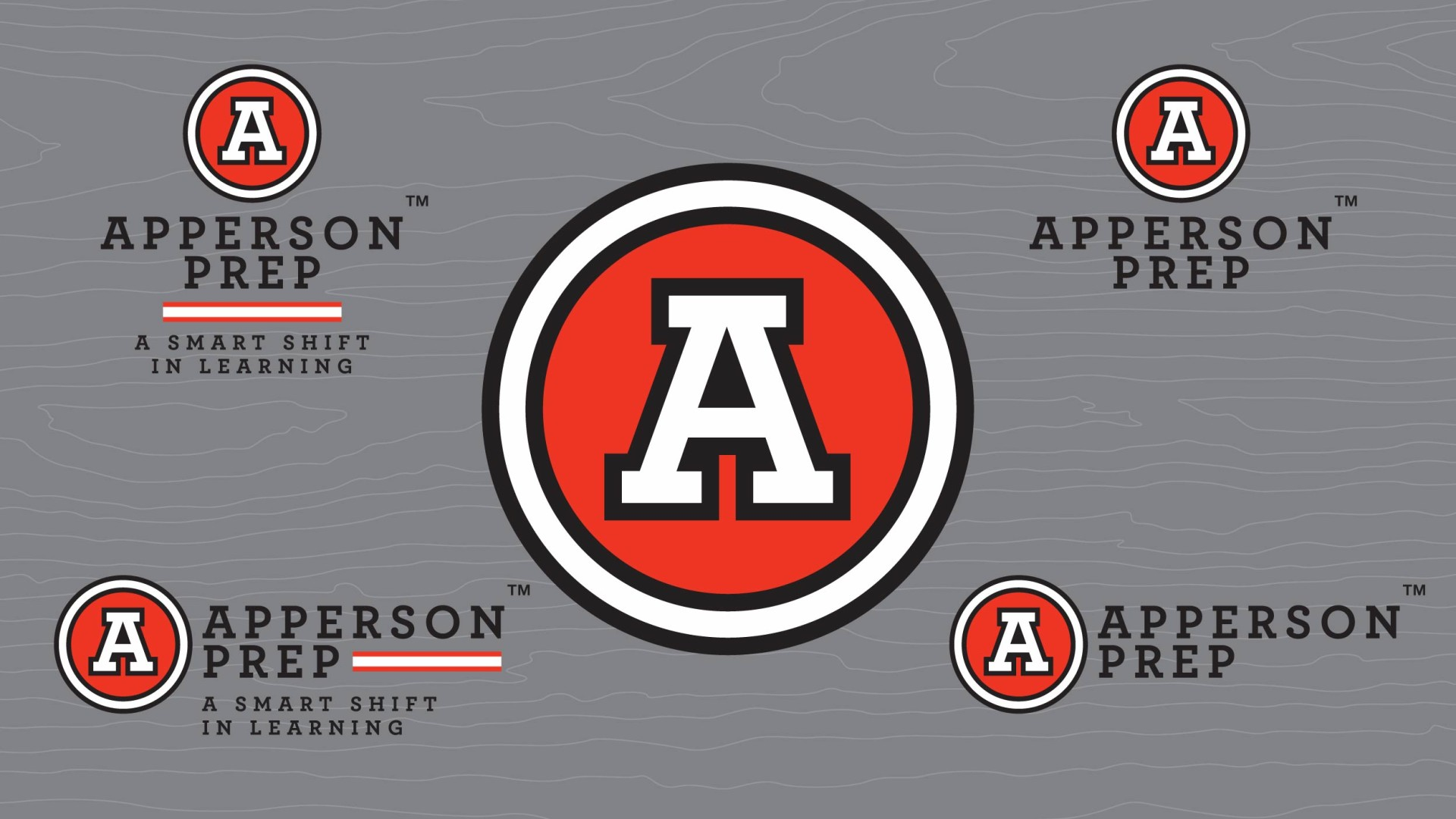 Apperson Prep Logo Variations