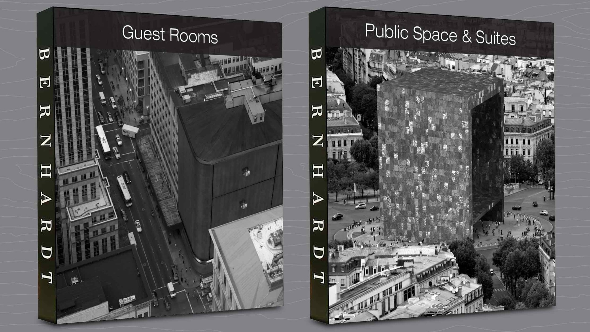 Guest Rooms and Public Space & Suites Display Walls