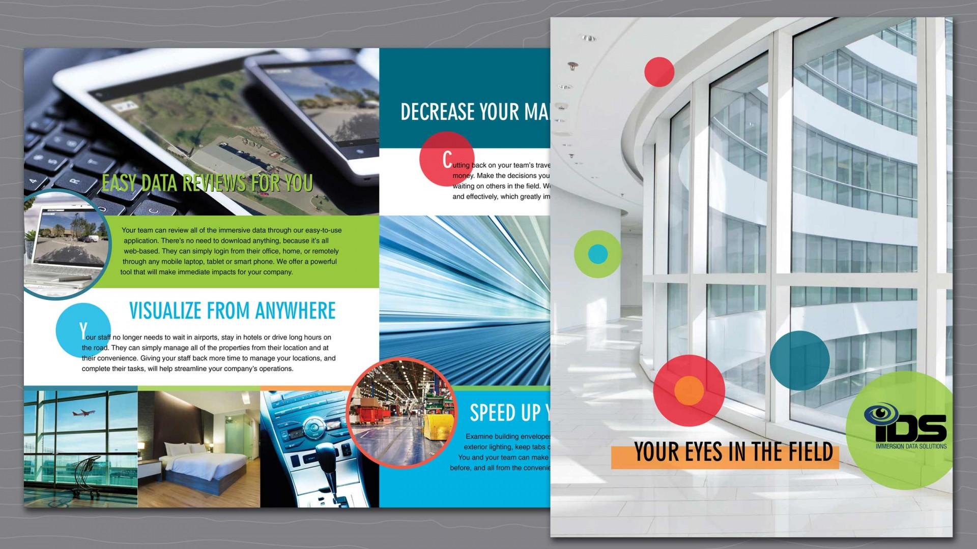IDS capabilities brochure composite view.