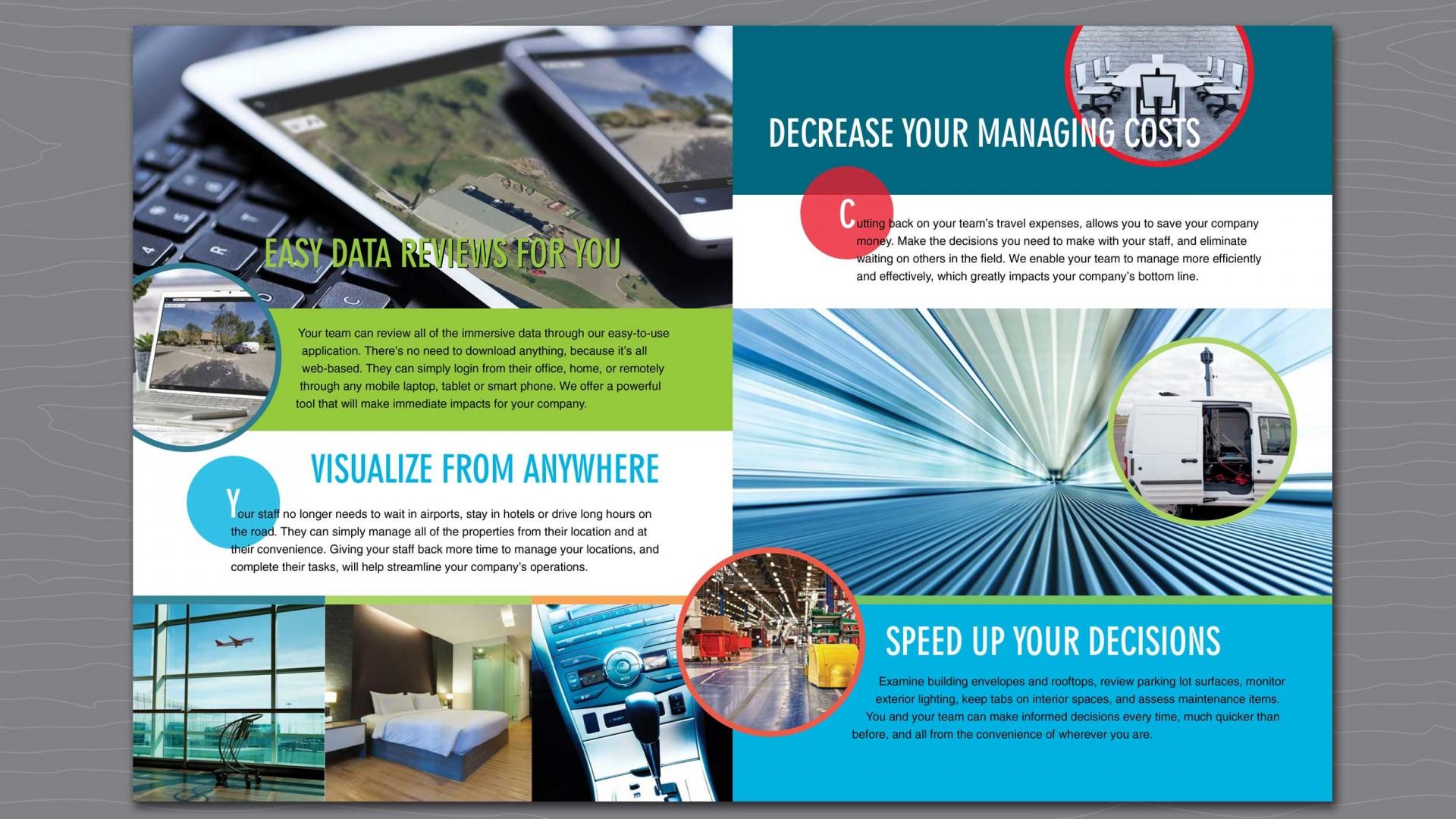 IDS capabilities brochure second interior spread.